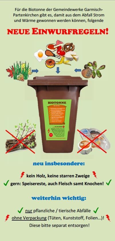 knochen biomüll